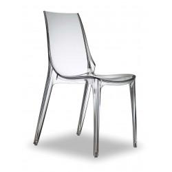 Chaise empilable en polycarbonate VALERY-S