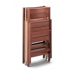 Robert chaise pliante en bois, vendu par lot de 4