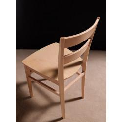 Chaise de cuisine en bois Cream