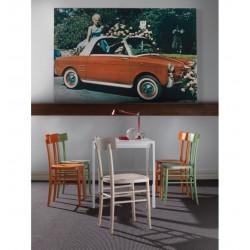 Chaise de cuisine en bois Lambretta